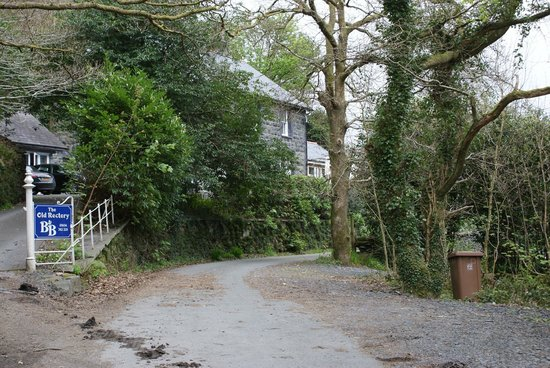 The Old Rectory on the Lake : The drive up to The Old Rectory such a peaceful setting