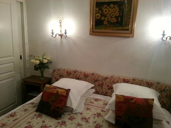 L'Hostellerie du Chateau: Double room