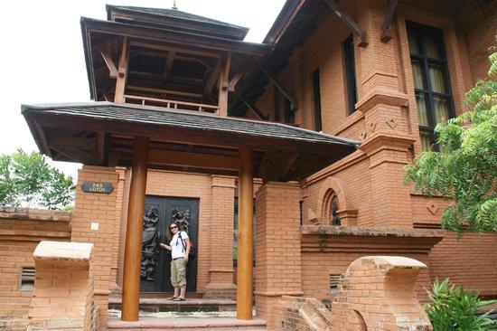 Aureum Palace Hotel & Resort Bagan : La habitación por fuera
