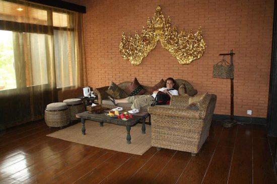 Aureum Palace Hotel & Resort Bagan : Abajo