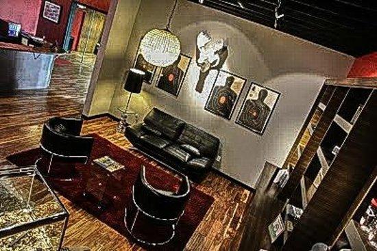 Strip Gun Club: Sleek and modern design