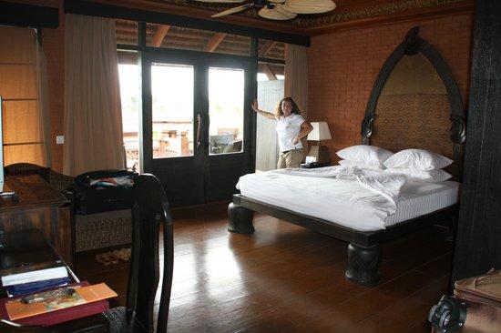Aureum Palace Hotel & Resort Bagan : Habitación Arriba