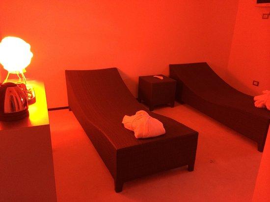 Hotel Moderno Chianciano: Sala relax della suite
