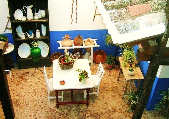 Casa Rural Tia Pilar: patio