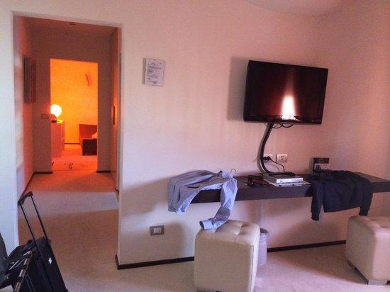 هوتل موديرنو: La suite