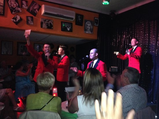 La Cala de Mijas, Spain: Jersey Boys - first class