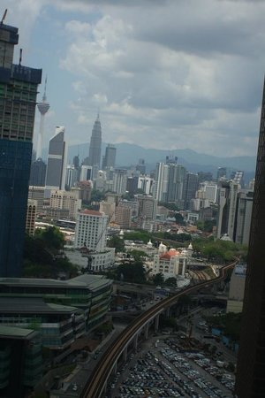 Aloft Kuala Lumpur Sentral: A view from the 28th floor - my room