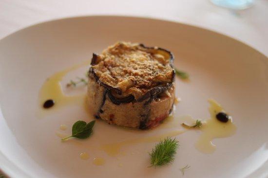 Le Gemme di Artemisia : Eggplant and ricotta cheese pie