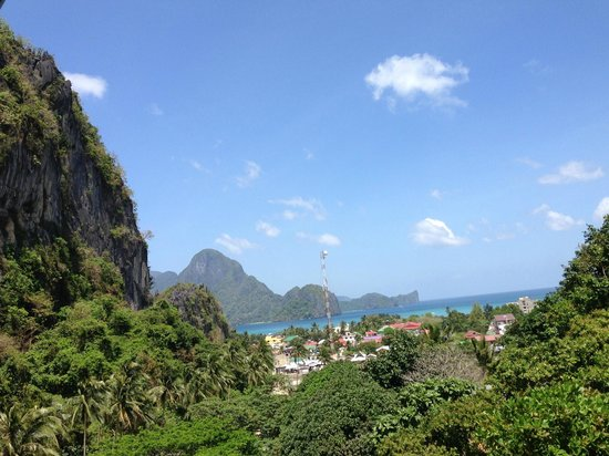 El Nido Viewdeck Inn: Beautiful view of El Nido