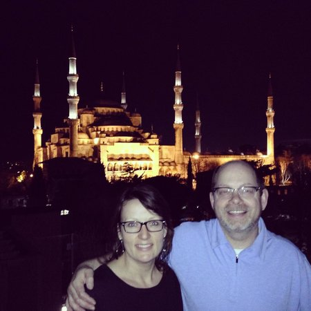 Armagrandi Spina Istanbul : Photo from the roof of Armigrandi