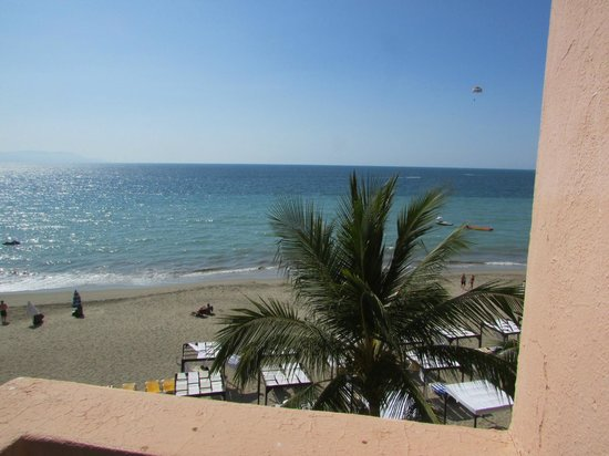 Crown Paradise Golden Resort Puerto Vallarta: view from balcony