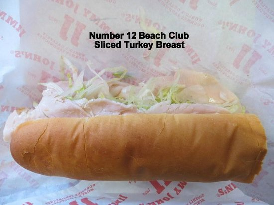 Jimmy John's: Number 12 Beach Club