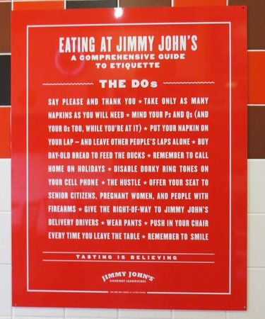 Jimmy John's: Dos