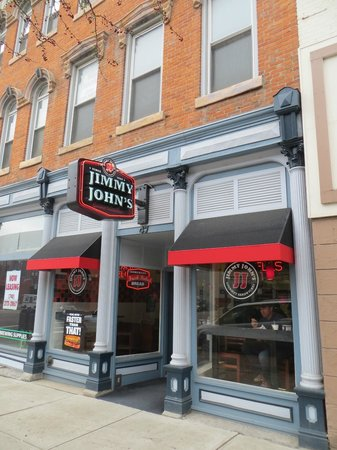 Jimmy John's: Outside on Street