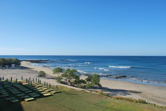 JW Marriott Hotel Guanacaste Resort & Spa : View from our Ocean FRONT room - north side of the resort