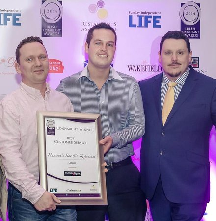 Harrison's Bar and Restaurant: Connaught Winners at the Irish Restaurant Awards