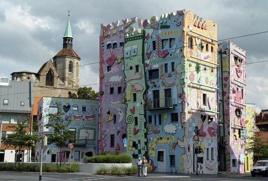 Braunschweig, ألمانيا: Rizzihaus Braunschweig von Günter Brauner