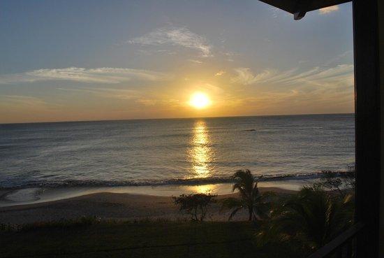JW Marriott Hotel Guanacaste Resort & Spa : Sunset from the ocean front room
