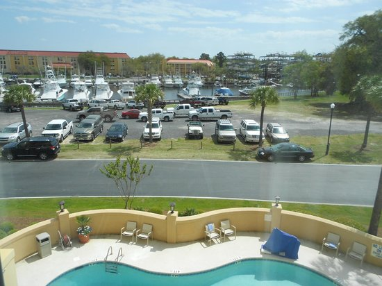 SpringHill Suites Charleston Downtown/Riverview: View of the Ripley Marina