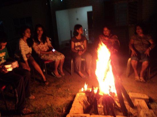 Sabuj Saikat Resort: our bon fire