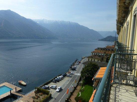 Grand Hotel Tremezzo: vue sur le lac de Côme