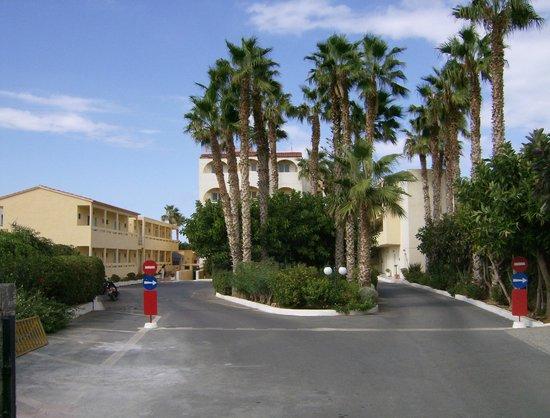 Phaedra Beach Hotel: Hotel - main entrance