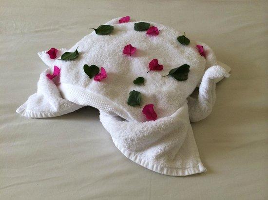 Marina Plaza Hotel Tala Bay : Towel Art 2