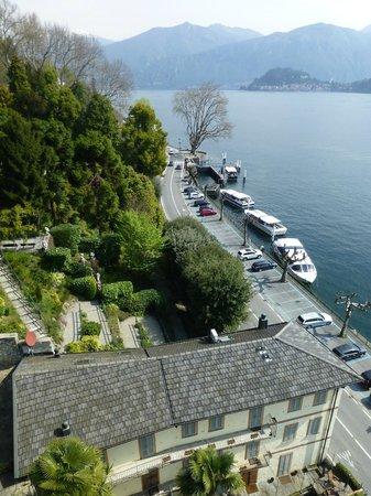 Grand Hotel Tremezzo: vue sur le lac et la Villa Carlotta