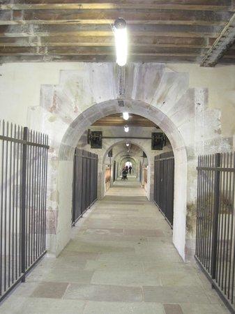 Barrage Vauban : Pasaje inferior