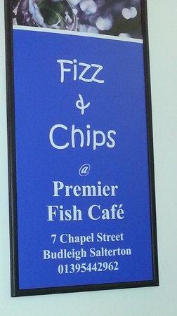 Premier Cafe: Sign