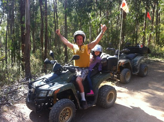 Hugo's Quad Bike Adventure : The Best part of our Holiday