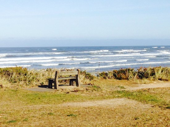 Deane's Oceanfront Lodge : View from the Bluff