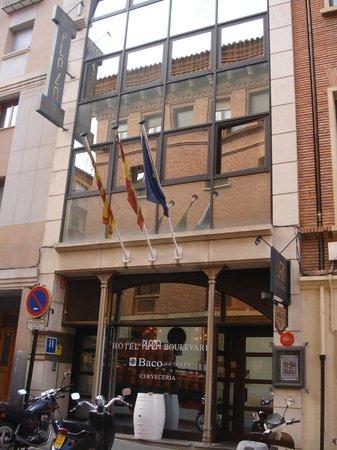 Hotel Teruel Plaza: Esterno Hotel