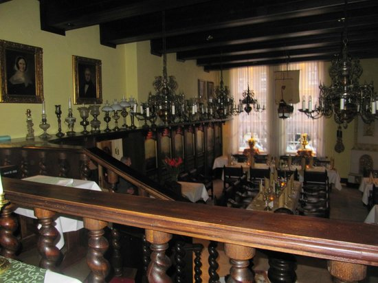 Pod Lososiem Restaurant: View 2 lower level