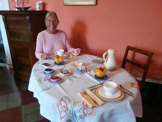 Villino Eleonora First Quality Bed and Breakfast: Den fantastiska frukosten