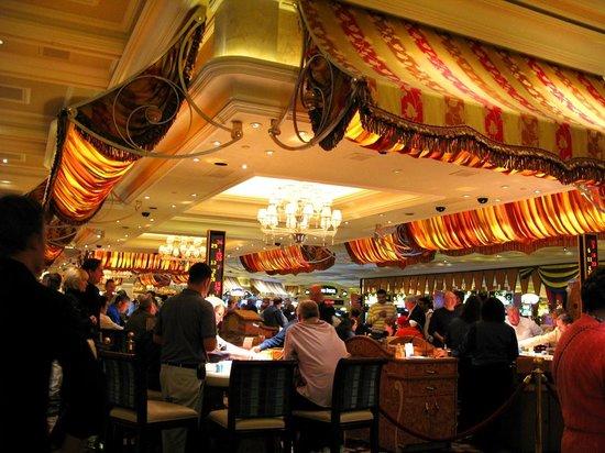 Casino at Bellagio: Awnings in Casino