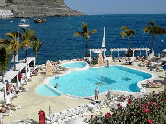 Pool from the roof terrace picture of hotel puerto de mogan the senses collection puerto de - Marina apartments puerto de mogan ...