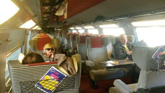 TGV: Primera clase