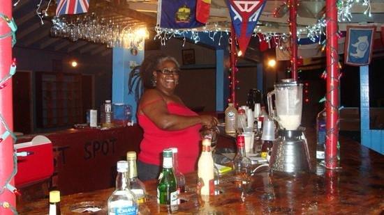 Harris' Place : friendly hostess