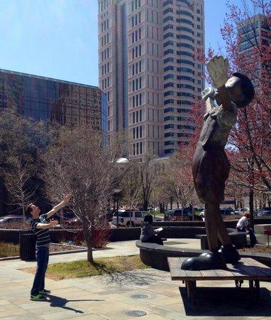 City Garden: Pinocchio!