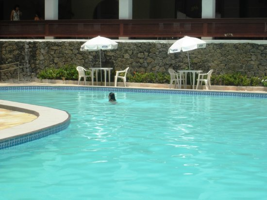 Grande Hotel Da Barra: PISCINA AGRADÁVEL.