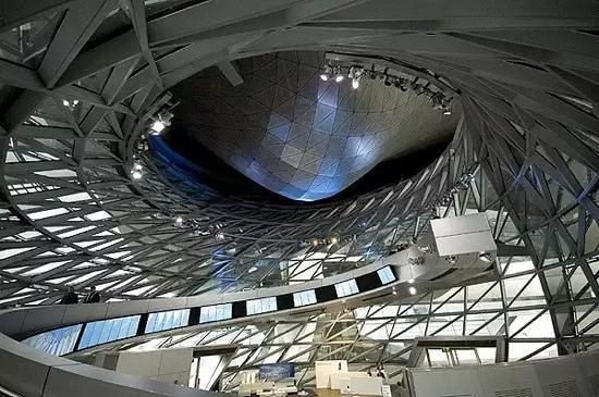 BMW Welt: eco area of the exhibit