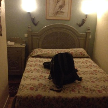 Hotel des Bains: The room