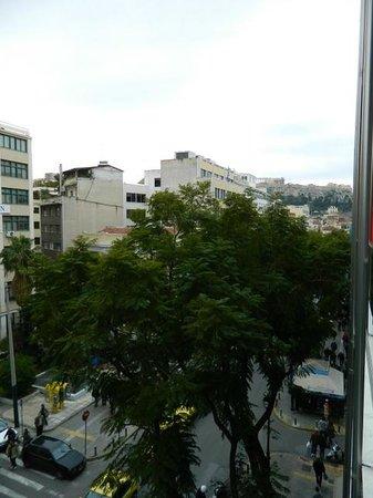 Attalos Hotel : Vista desde terraza
