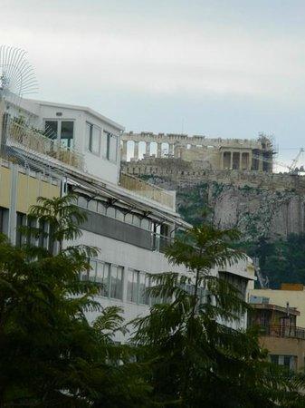 Attalos Hotel: Vista desde la terraza