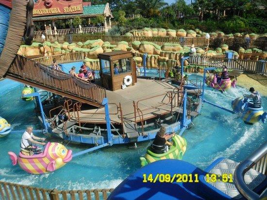 PortAventura Park: water ride in porta ventura