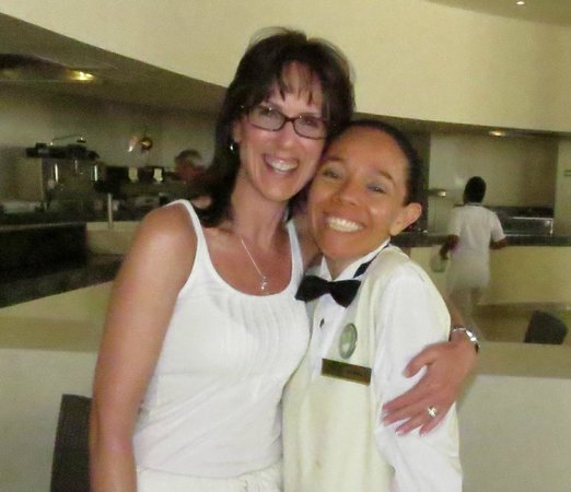 Secrets Huatulco Resort & Spa : Everyday a smile and a hug...Sofia, truly a friend I look forward to seeing again :-)