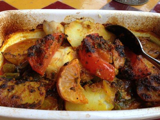 Riad Noga: Food