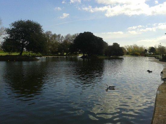 Cleethorpes Boating Lake: the lake