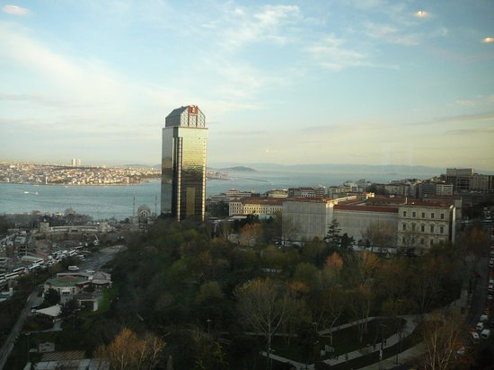 Hilton Istanbul Bosphorus: View from 7th floor room